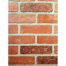 home depot interior wall panels 1 4 in x 48 in x 96 in kingston brick hardboard wall panel