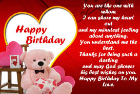 Happy Birthday Wishes To Sms 444 Love Birthday Messages And Best Wishes For Lover Happy