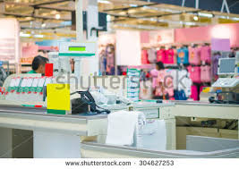 Supermarket Cash Desk Payment Counter Stock Images Royalty Free Images U0026 Vectors