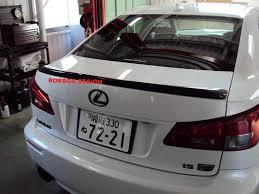 lexus is 250 vietnam lexus is250 isf rear spoiler 2008 2013 u2013 robson design carbon