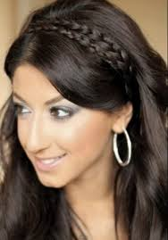 braided hair headband how to braided headband with your own hair at home hairstyles