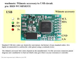 wusbmote wiimote accessory to usb adapter