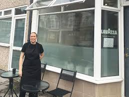 glass door for business wonderland café is open for business highbury ac
