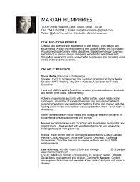 Web Producer Resume Media Resume Templates