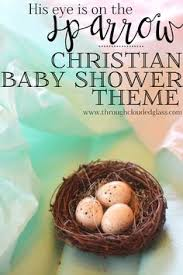 christian baby shower christian baby shower theme ideas through clouded glass