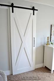 Diy Interior Barn Door by Super Simple Barn Door Tutorial Via Make It And Love It Diy