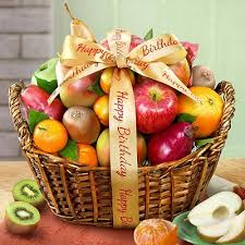 fruit gift baskets sweet happy birthday fruit gift basket at gift baskets etc