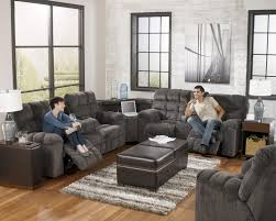 Reclining Sofa With Chaise by Reclining Sectional Sofa With Right Side Loveseat Cup Holders And