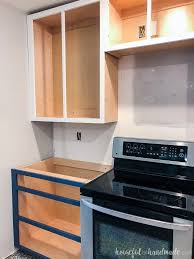 how to attach kitchen base cabinets how to build base cabinets houseful of handmade