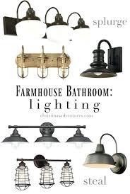 modern farmhouse bathroom lighting farmhouse bathroom lighting farmhouse bathroom lighting for every