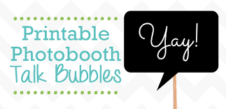 free printable photo booth props template free printable photobooth props talk bubbles frugalful