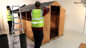 10 X 6 Shed Homebase by How To Build A Shed Youtube