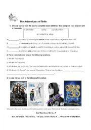 english worksheets using movies worksheets page 471