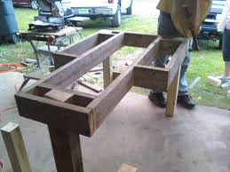 Knock Down Shooting Bench Plans Diy Shooting Bench Plans Plywood Wooden Pdf Woodcrafts Patterns