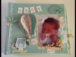 baby boy scrapbook album mini album baby boy scrapbooking