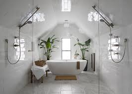 Bathrooms With Freestanding Tubs Contemporary Master Bathroom With Freestanding Bathtub By Design