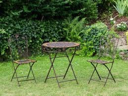 Buy Outdoor Table And Chairs Garden Table And Chairs 2 Iron Antique Style Garden Furniture