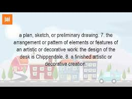 what is the definition of design in art youtube
