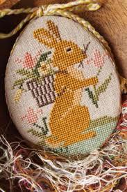easter ornament by prairie schooler from the kit farm fresh