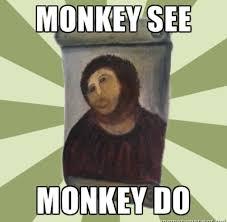 Monkey Jesus Meme - 80 year old spanish woman turns jesus into a monkey pulseradio