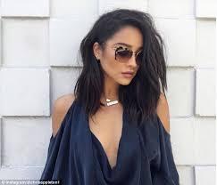 khloé kardashian debuts short lob kim kardashian s hairstylist reveals shay mitchell s new lob is a