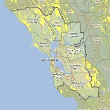 Oakland Map Wildfire Maps And Information Abag Resilience Program