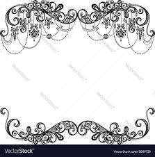 beautiful holiday frame with christmas decorations