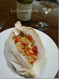 cuisine en papillote papillote de cabillaud fenouil curry et piment végétarien la