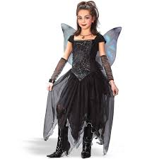 black dress for halloween party goth fairy princess child costume if i have children