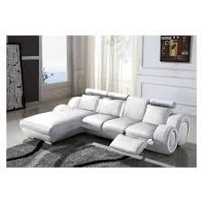 canapé avec méridienne canapé d angle avec méridienne blanc achat vente canapé sofa