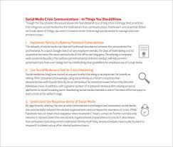 Plan Social Media Social Media Action Plan Template U2013 5 Free Word Excel Pdf Free