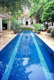 cost of a lap pool in ground lap pools prices modern pool installation park gallery