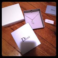 necklace gift boxes images 30 off dior jewelry authentic dior rhinestone necklace with jpg