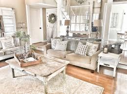 farmhouse living room chippy doors and windows fixer upper