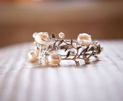 the pearls wedding band best 25 pearl promise rings ideas on pearl rings