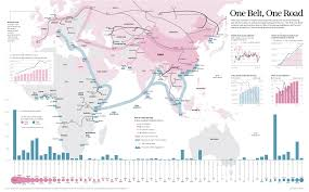 Silk Road Map Map Of The Day China And The New Silk Road The Sounding Line