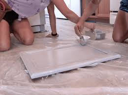 best paint to use on unfinished cabinets how to paint unfinished cabinets in 9 easy steps