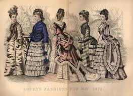 godey s fashions m polites godey s s book may 1875