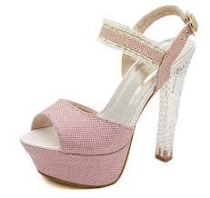 Light Pink Wedding Shoes Online Shop Glitter Light Pink Wedding Shoes Women Sandal Silver