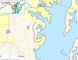 Maryland State Parks Map maryland route 468 wikipedia