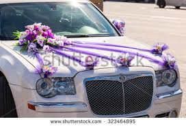 wedding car decorations wedding car decoration stock images royalty free images vectors