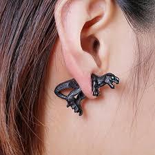 t rex earrings dinosaur t rex earrings 4 sets tyrannosaurus rex with