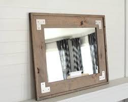 industrial bathroom mirrors industrial mirror etsy