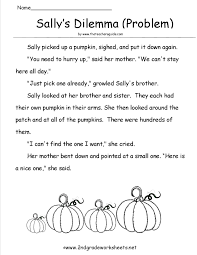 2nd grade halloween worksheets worksheets