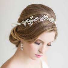 floral hair accessories aliexpress buy new handmade gold silver leaf wedding