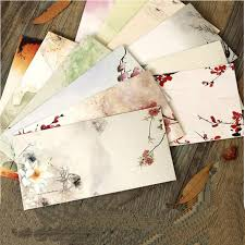 wedding invitation envelopes free shipping 30pcs lot chines style paper envelopes for
