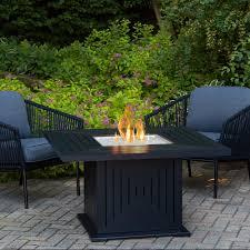 alderbrook faux wood fire table propane fire pit table gas tables costco barrel alderbrook faux wood