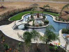 Backyard Pool With Lazy River Backyard Lazy River Cost Google Search Swimming Pools