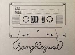 wedding song request cards song request mixtape card digital design style 2