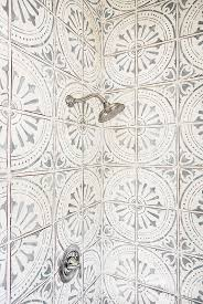 others hexagon bathroom tile sea glass backsplash moroccan